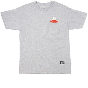 New! Grizzly Griptape x Boo Johnson Pocket Tee